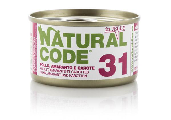 Natural code 31 pollo Amaranto e carote