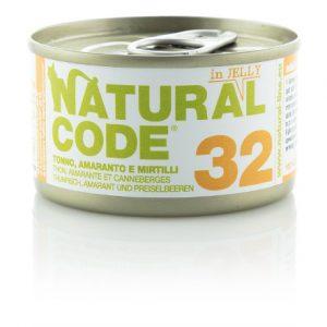 Natural Code 32 Tonno Amaranto e Mirtilli