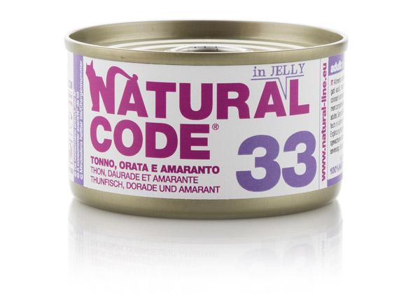 Natural code 33 Tonno Orata e amaranto