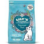 Lily's Kitchen FISHERMAN'S FEAST pesce bianco e salmone per gatti ADULT - 350 gr