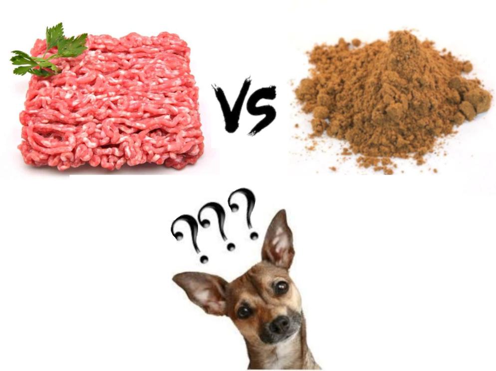 carne fresca contro carne disisratata nelle crocchette