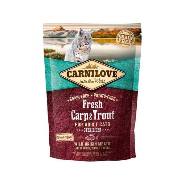 carnilove fresh carp & trout