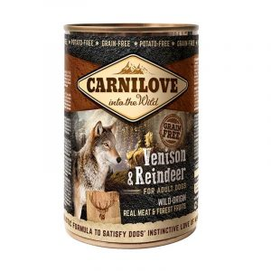 carnilove umido adulto cervo e renna 400 grammi