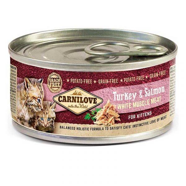 carnilove umido kitten 100 grammi