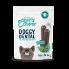 Edgard & Cooper DOGGY DENTAL FRAGOLA E MENTA snack per cani - s-0-10-kg