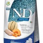 Farmina ND Ocean Puppy Medium Maxi Merluzzo Zucca e Melone Cantalupo - 25-kg