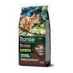 Monge Cat Grain Free B Wild Bufalo con Lenticchie e Patate - 15-kg
