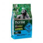 Monge B Wild Grain Free Acciughe Patate e Piselli per Cani - 25-kg