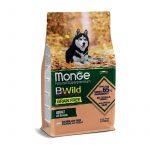 Monge B Wild Grain Free Salmone con Piselli per Cani - 25-kg