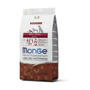 monge mini adult lamb rice potatoes