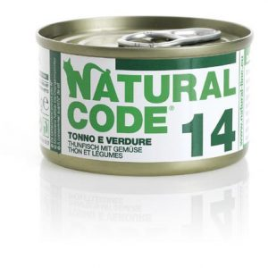 natural code 14 tonno e verdure
