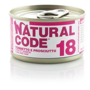 Natural code 18 tonnetto e prosciutto