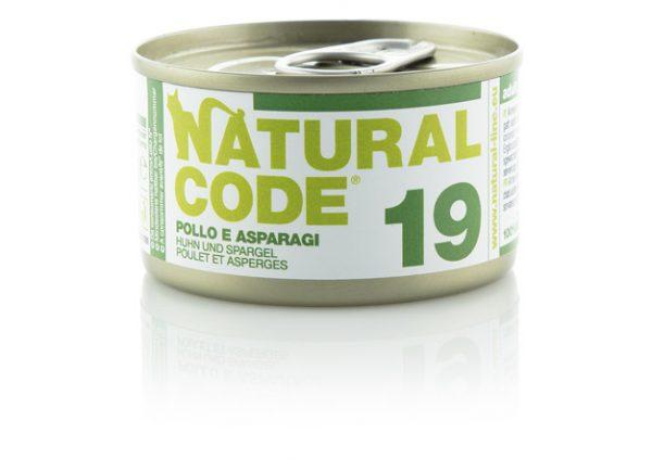 natural code 19 pollo e asparagi