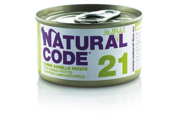 natural code tonno agnello e patate