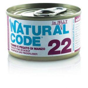 natural code 22 tonno e fegato di manzo
