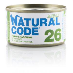 natural code 26 tonno e tacchino