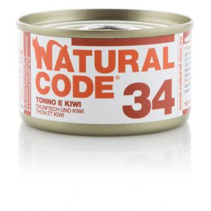 natural code 34 tonno e kiwi