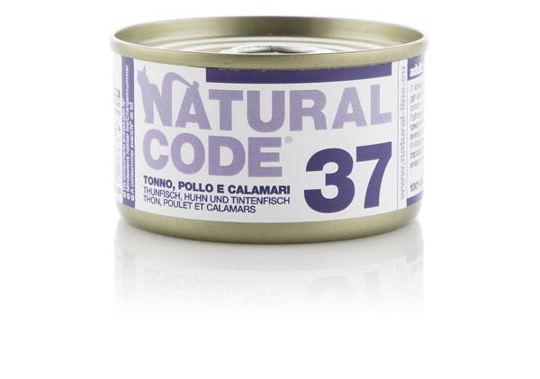 natural code 37 Tonno pollo e calamari