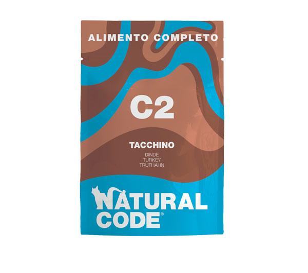 Natural code c2 umido completo per gatti