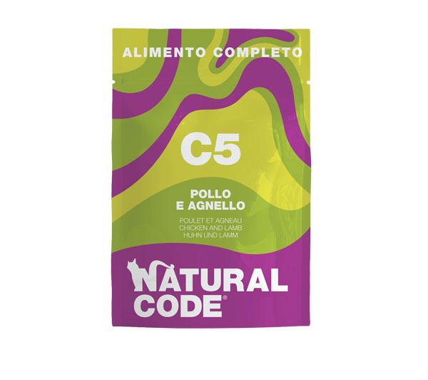 Natural code c5 umido completo per gatti
