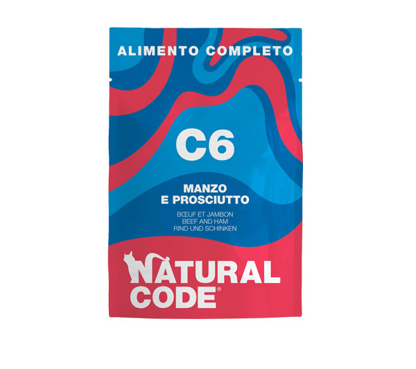 natural code c6 umido completo