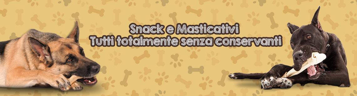 snack naturali per cani