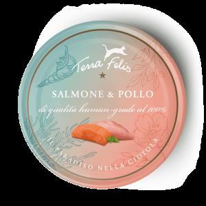 terra felis salmone e pollo 80 gr