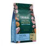 Tribal Pressato a Freddo Puppy Tacchino Fresco - 25-kg